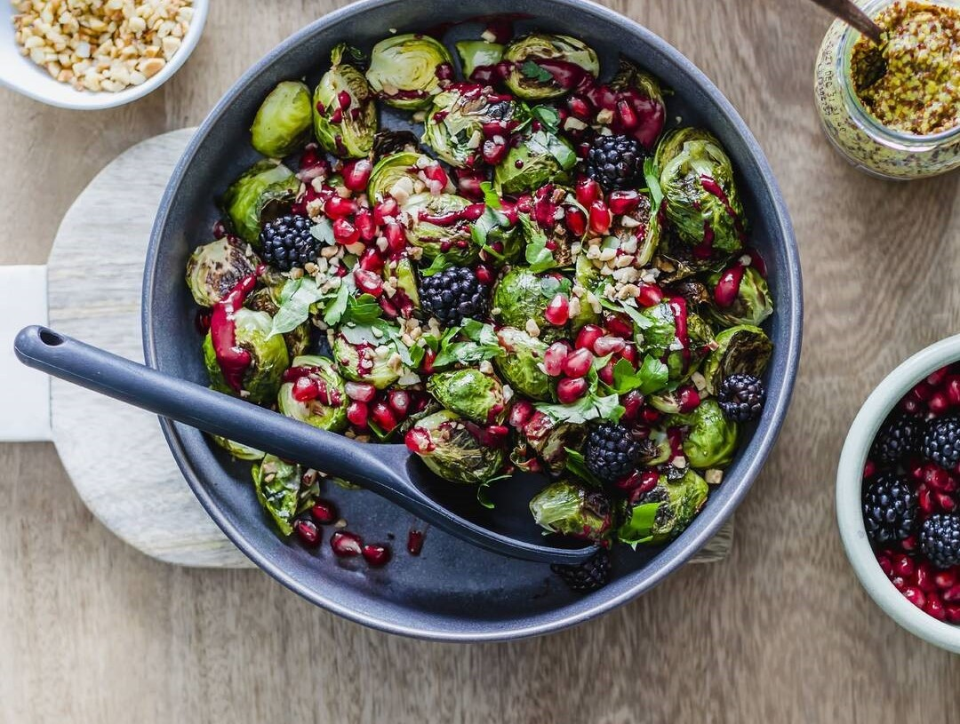 Roaster Brussels Sprouts and Blackberry